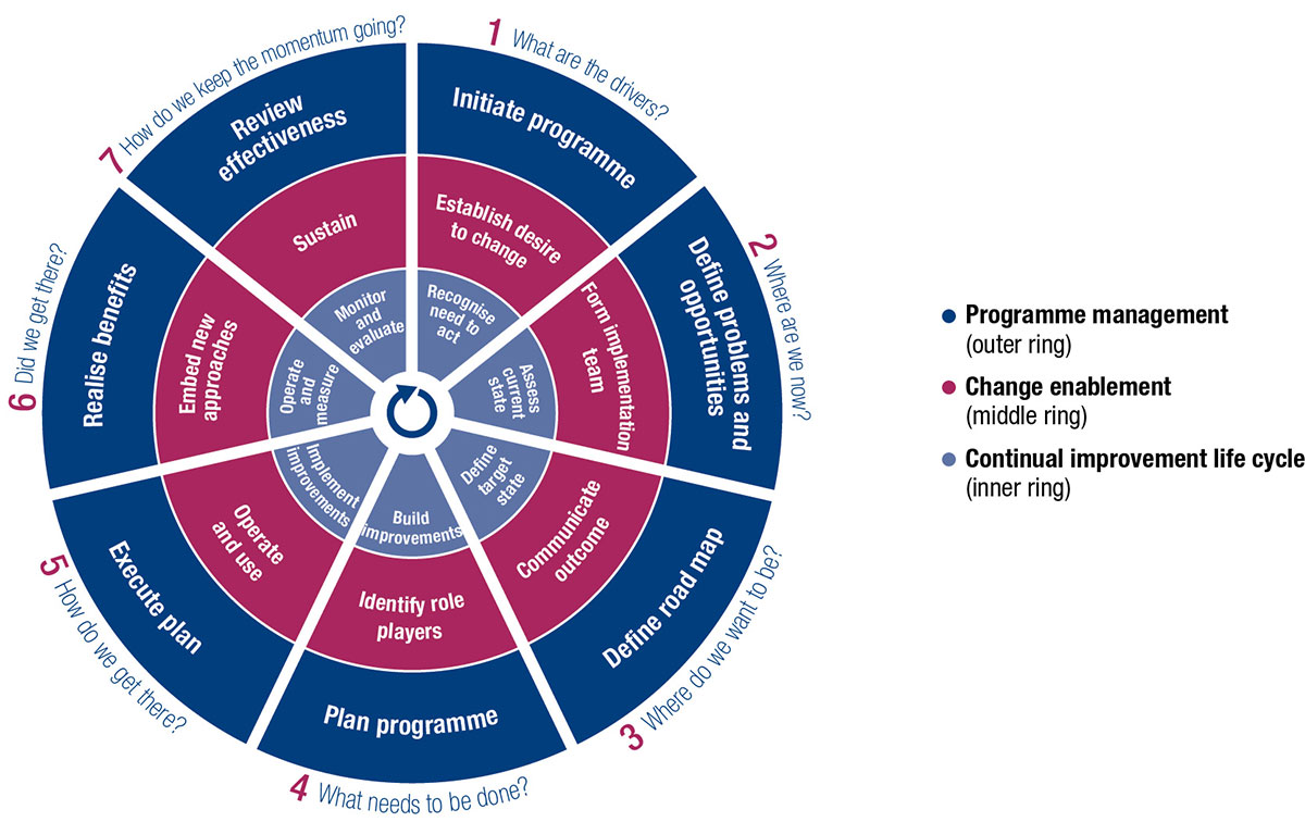 COBIT 'Implementation Life Cycle